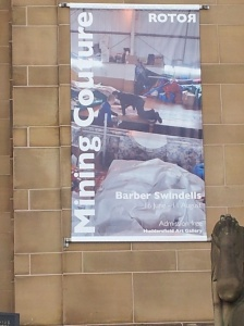 Barber Swindells Banner in situ