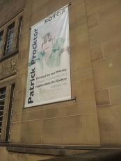 Patrick Procktor banner in situ