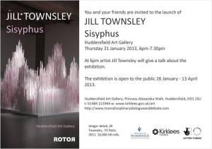 Jill Townsley, Sisyphus e-flyer
