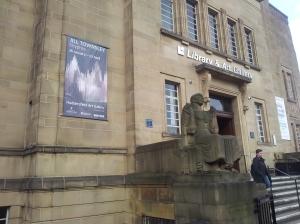 Sisyphus Banner in situ